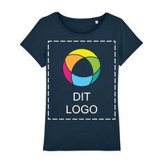 Stanley Wants figursyet T-shirt til damer med blæktryk