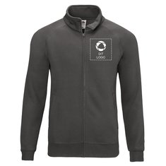 Fruit of the Loom® Premium sweatshirt med enkeltfarvetryk