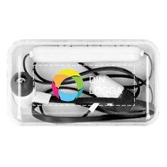 Jazz Bluetooth®-öronsnäckor med fyrfärgstryck