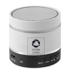 Haut-parleur Bluetooth lumineux Round