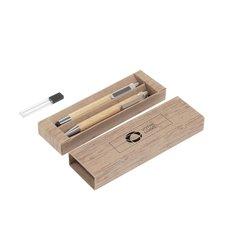Parure de stylos en bambou