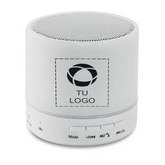 Altavoz de luz LED con Bluetooth RoundWhite