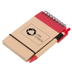 Zuse anteckningsbok med penna