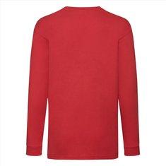Fruit of the Loom® Kids Valueweight Langarm-Shirt (linke Brust und vollflächiger Druck auf Rückseite)