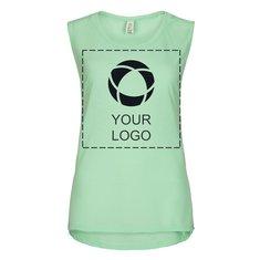 Camiseta vaporosa de tirantes Muscle de Bella + Canvas® para mujer