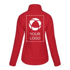 Printer Trial Women's Softshell Jacket