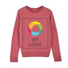 Stella Tripster ikonisk sweatshirt med rund hals til damer med blæktryk
