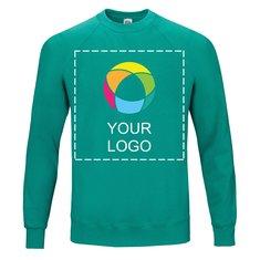Klassisk trøje med raglanærmer fra Fruit of the Loom®