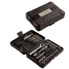 Kit de herramientas de 40 piezas con estuche rígido