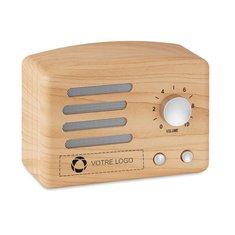 Haut-parleur Bluetooth® en bois Jackson