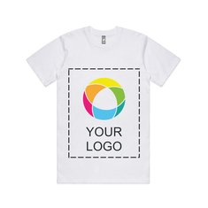 AS Colour Men's Classic T-shirt with Full Front Ink Print