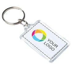 Porte-clés compact avec image à insérer