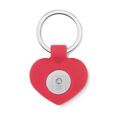 Cuore Key Ring, Laser Engraved