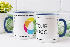 Coloured Mug Full Color Wrap Print