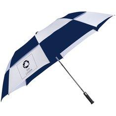 Slazenger™ Norwich paraply i två sektioner med automatisk öppning och ventilation
