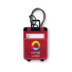 Étiquette de bagage en plastique Traveller