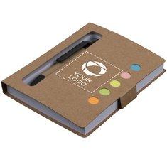 Reveal notitieboek met memoblaadjes