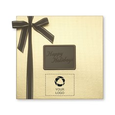 Happy Holidays Medium Chocolate Confections Gift Box - Case of 12
