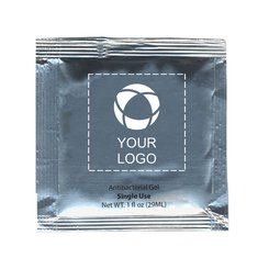 Single-use Hand Sanitizer Sachets (0.1 fl oz) - Pack of 500