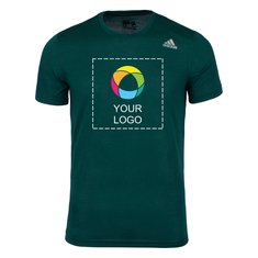 Adidas Men's Green Prime Training T-shirt (Printed)