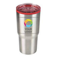 Perfect Line Color Splash 30 oz Stainless Steel Economy Tumbler