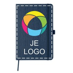 Woody A5-notitieboekje met full colour drukwerk