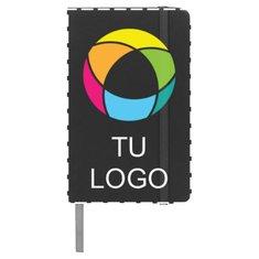 Libreta de tamaño A6 con estampado a todo color Spectrum de Bullet™