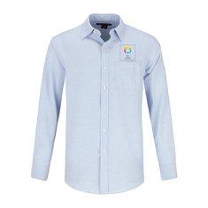 Camisa de tela dobby con rombos que no necesita planchado de Red House®