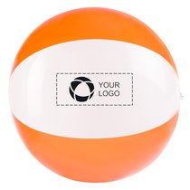 Bullet™ Bondi solid/transparent beach ball
