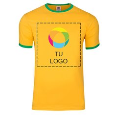 Camiseta Ringer de Fruit of the Loom® para hombre