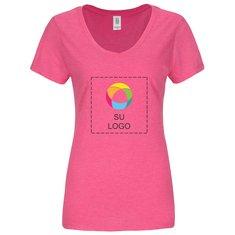 Camiseta Perfect Tri® de cuello en V para mujer de District Made®