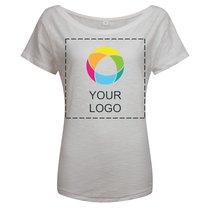 Maglietta ampia da donna in cotone biologico Vintage Mantis™