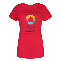 B&C™ Slub Dames-T-shirt