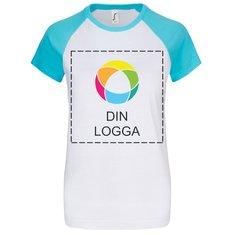 Sol's® Milky kortärmad T-shirt i dammodell