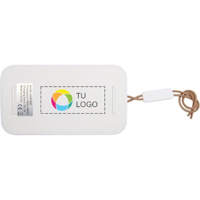 Altavoz impermeable con Bluetooth® y estampado a todo color Wells de Avenue™