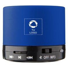 Altavoz cilíndrico de goma con Bluetooth de Bullet™