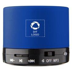 Bullet™ cylinderformet Bluetooth-højttaler i gummi