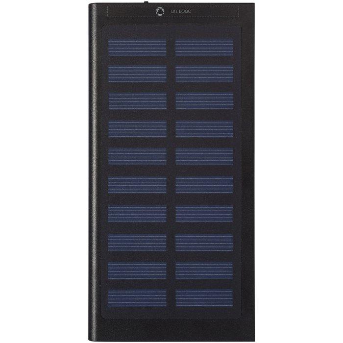 Avenue™ Stellar 8000 mAh solenergidrevet ekstern oplader med laserindgravering