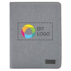 Deluxe teknologimappe med lynlås