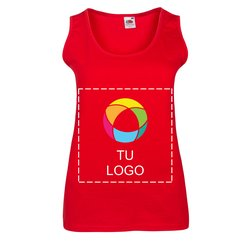 Camiseta de tirantes Valueweight de mujer de Fruit of the Loom®
