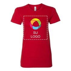 Camiseta de fino jersey American Apparel® de mujer