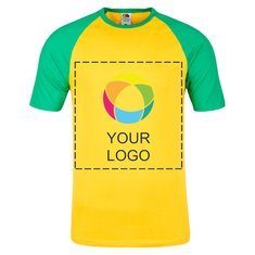 Fruit of the Loom® Men's Baseball Short Sleeve T-shirt