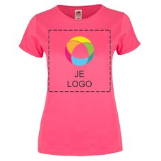 Fruit of the Loom® Dames Zacht T-shirt