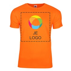 Fruit of the Loom® Sofspun Heren-T-shirt