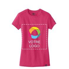 T-shirt à col rond pour femme New EraMD Heritage Blend