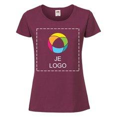 Fruit of the Loom® ringgesponnen premium dames-T-shirt