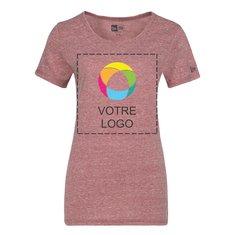 T-shirt moucheté de performance pour femme New EraMD Scoop