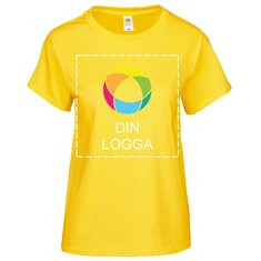 Fruit of the Loom® Valueweight T-shirt för dam