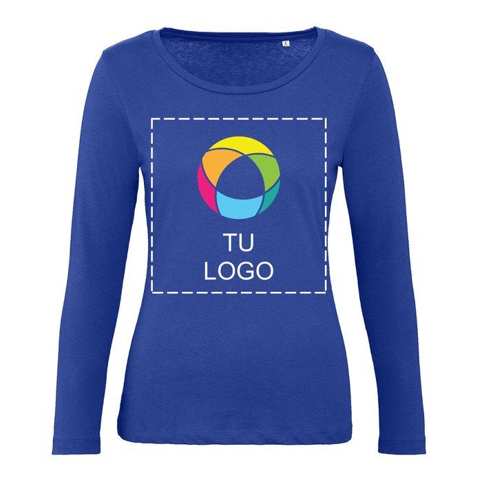 Camiseta de manga larga Inspire de B&C™ para mujer