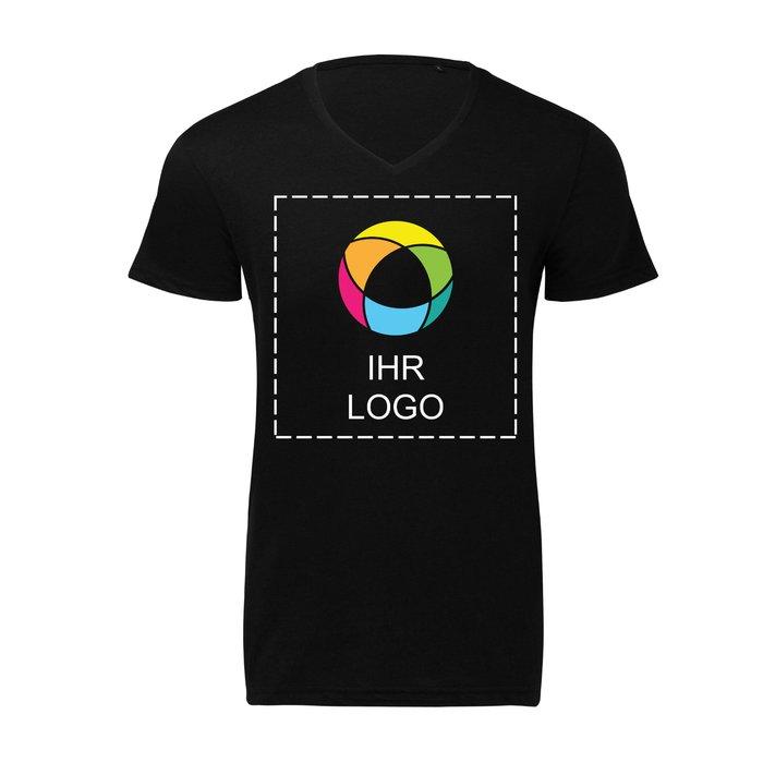 Herren-T-Shirt Triblend mit V-Ausschnitt von B&C™